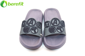 Grey Boy Avengers EVA Fashion Slides Sandals