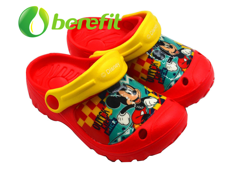 EVA Clogs for Kids with Sandals for Kids Styles with Low Wedge for Wide Feet