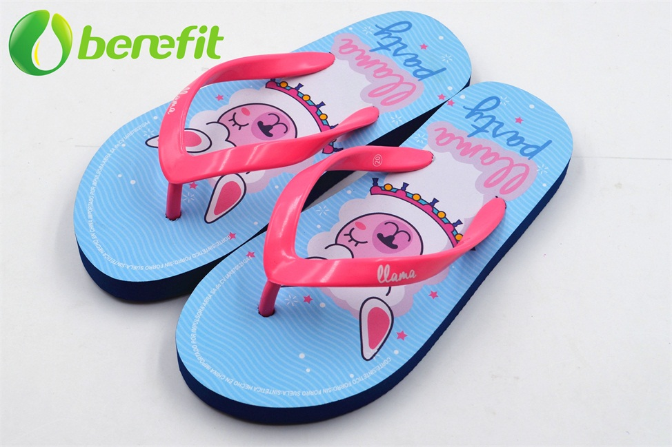 Pink Children PE Flip Flop Slipper