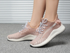 Nice Fashion Ladies flyknit Casual Shoes Green in Pink Gree White color