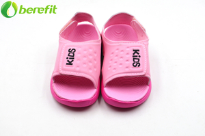 Toddler Pink Girl New Design PU Upper EVA Sandal