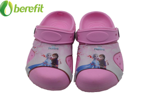 EVA Pink Chirdren Replacable Upper Garden Shoes Popular