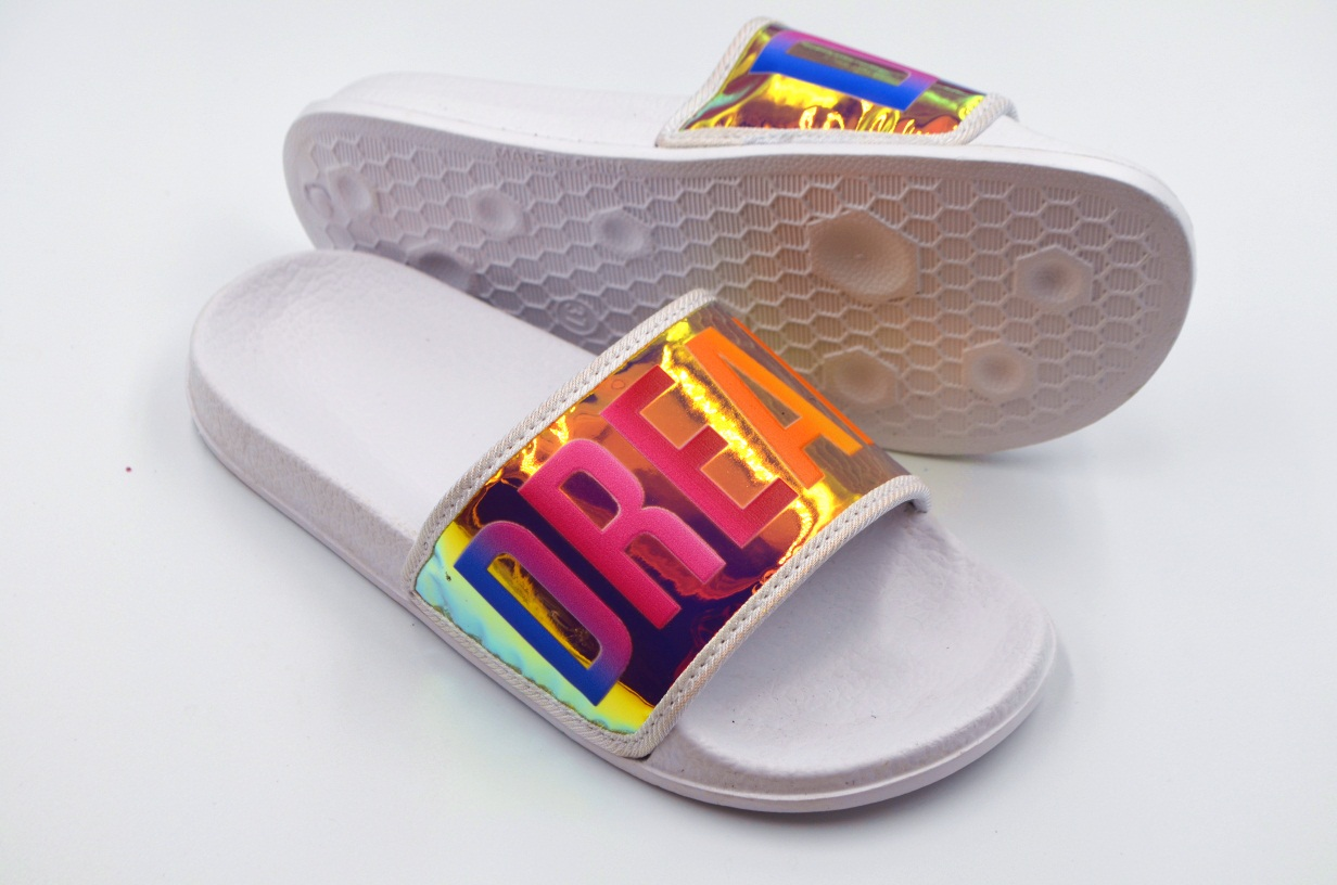 Women's EVA Gold Pool Slide Slipper