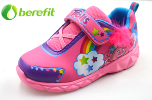 Pink Toddler Girl Shoes with Lights